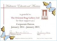 OUR CORPORATE PATRONAGE OF HASLEMERE MUSEUM